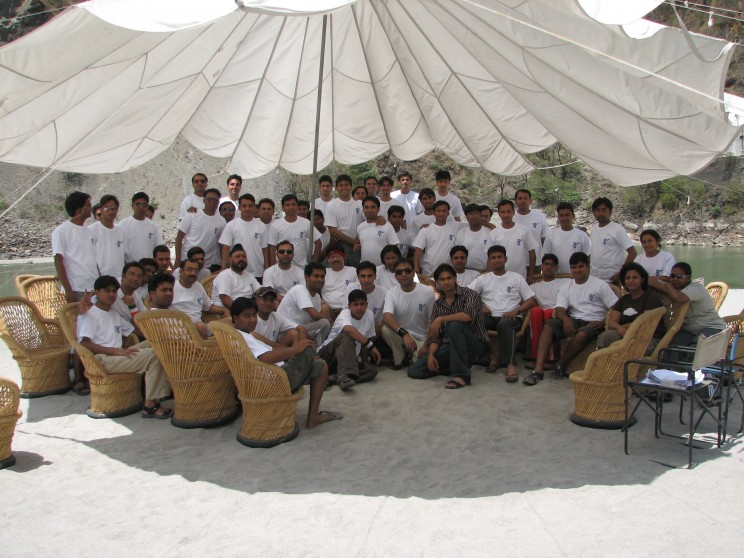 Group Excursion Rishikesh Camping & Rafting