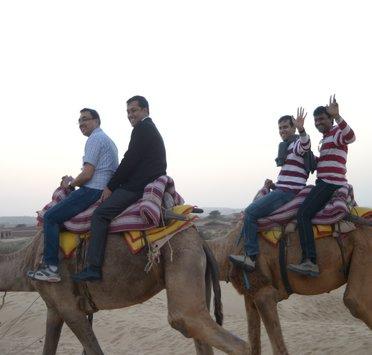 Jodhpur Camel Ride